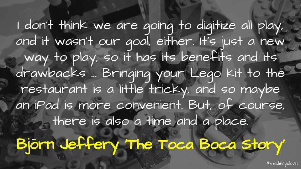 Toca Boca and the importance of play