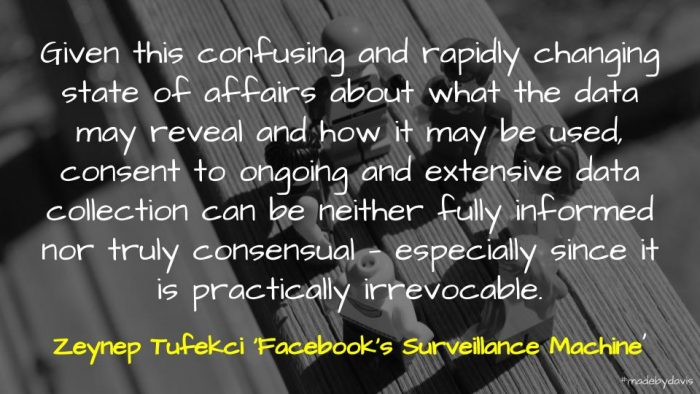 Tufekci on Informed Consent