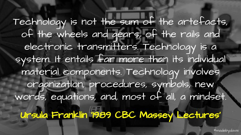 Technology as System