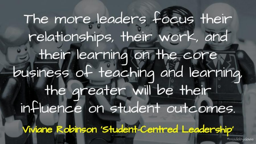 The more leaders focus their relationships, their work, and their learning on the core business of teaching and learning, the greater will be their influence on student outcomes.
